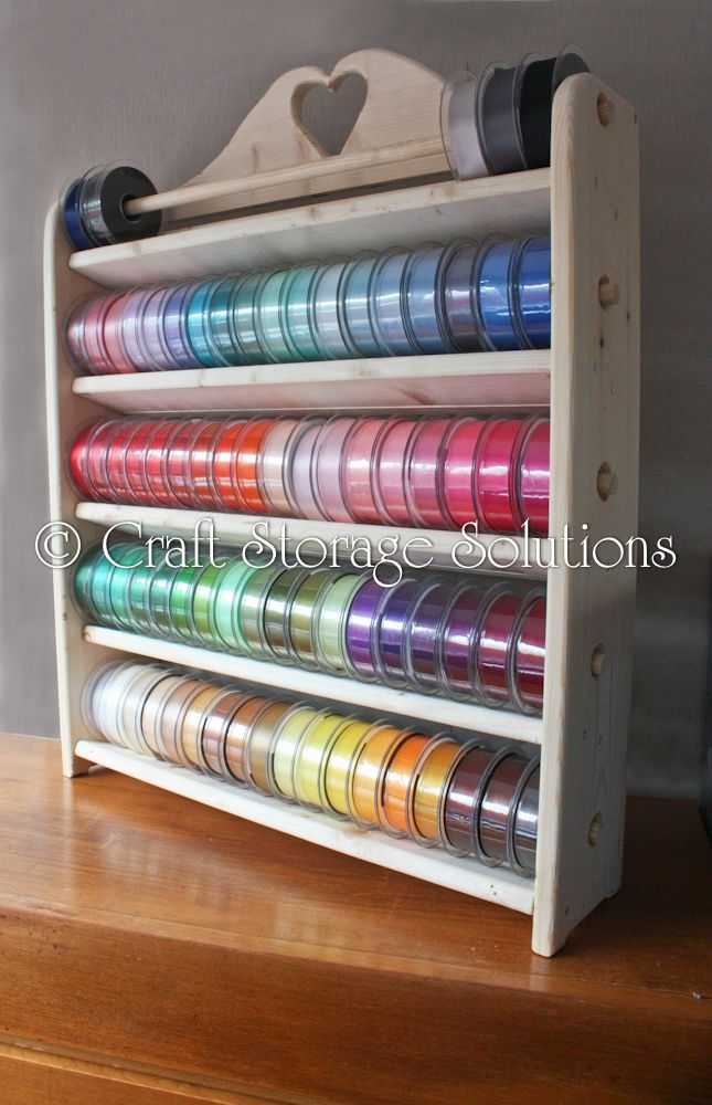 Attrayant Ribbon Storage