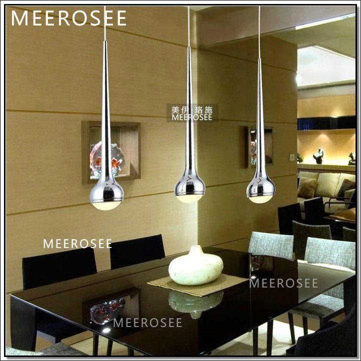 Fantástica cocina lámpara colgante de metal colgando las luces para ...
