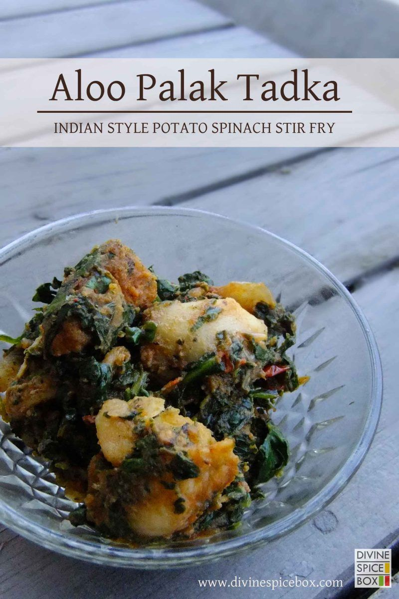 Aloo Palak Tadka is a traditional stir-fry dish which is savored in the northern parts of India, mostly during winters. With fresh spinach at hand, this is a quick and yummy dish to whip up and enj...