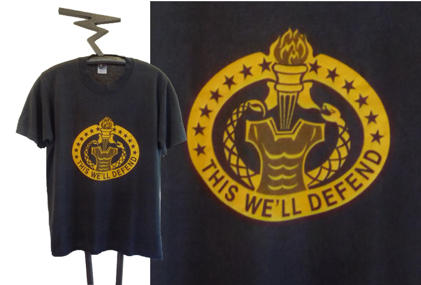 80 S United States Army This We Ll Defend Military Tee