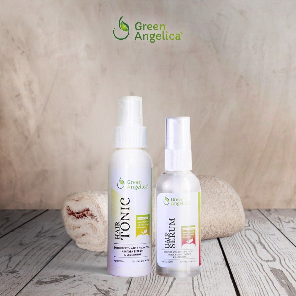 Paket Combo 1 Green Angelica merupakan paket penumbuh