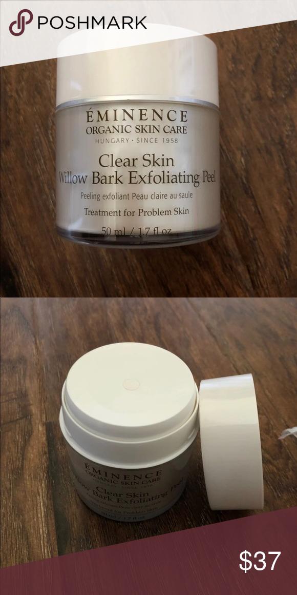 Eminence Clear Skin Exfoliating Peel Eminence Organic Clear Skin Willow Bark Exfoliating Peel Used Twic Exfoliating Peel Clear Skin Eminence Organic Skin Care