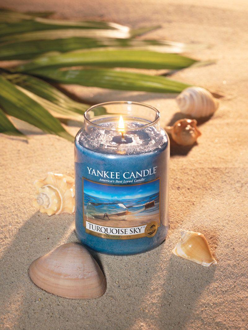 Yankee Candle – Turquoise Sky. #habitare2014 #design #sisustus #messut #helsinki #messukeskus