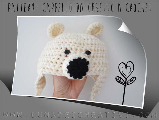 Come si fa il Cappello da Orso a Crochet in 2020 | Crochet ...