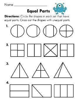 Fraction Strip - Equivalent Fractions
