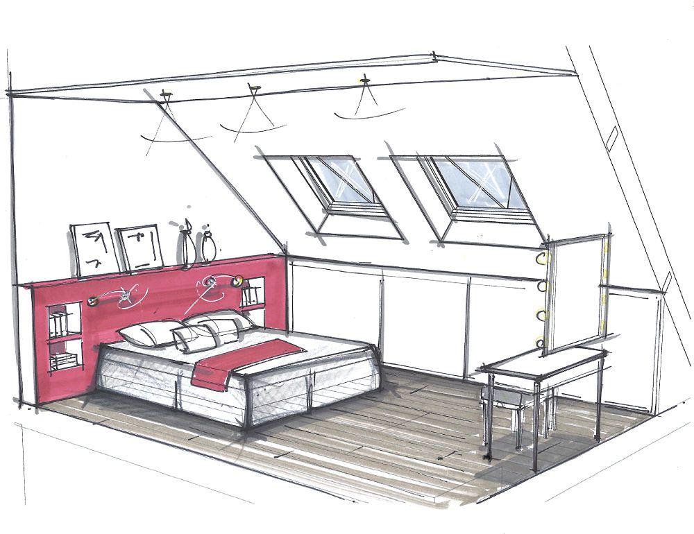 Nathalie rouger architecture d 39 int rieur bundle bpm en 2019 et - Dessin d interieur de maison ...