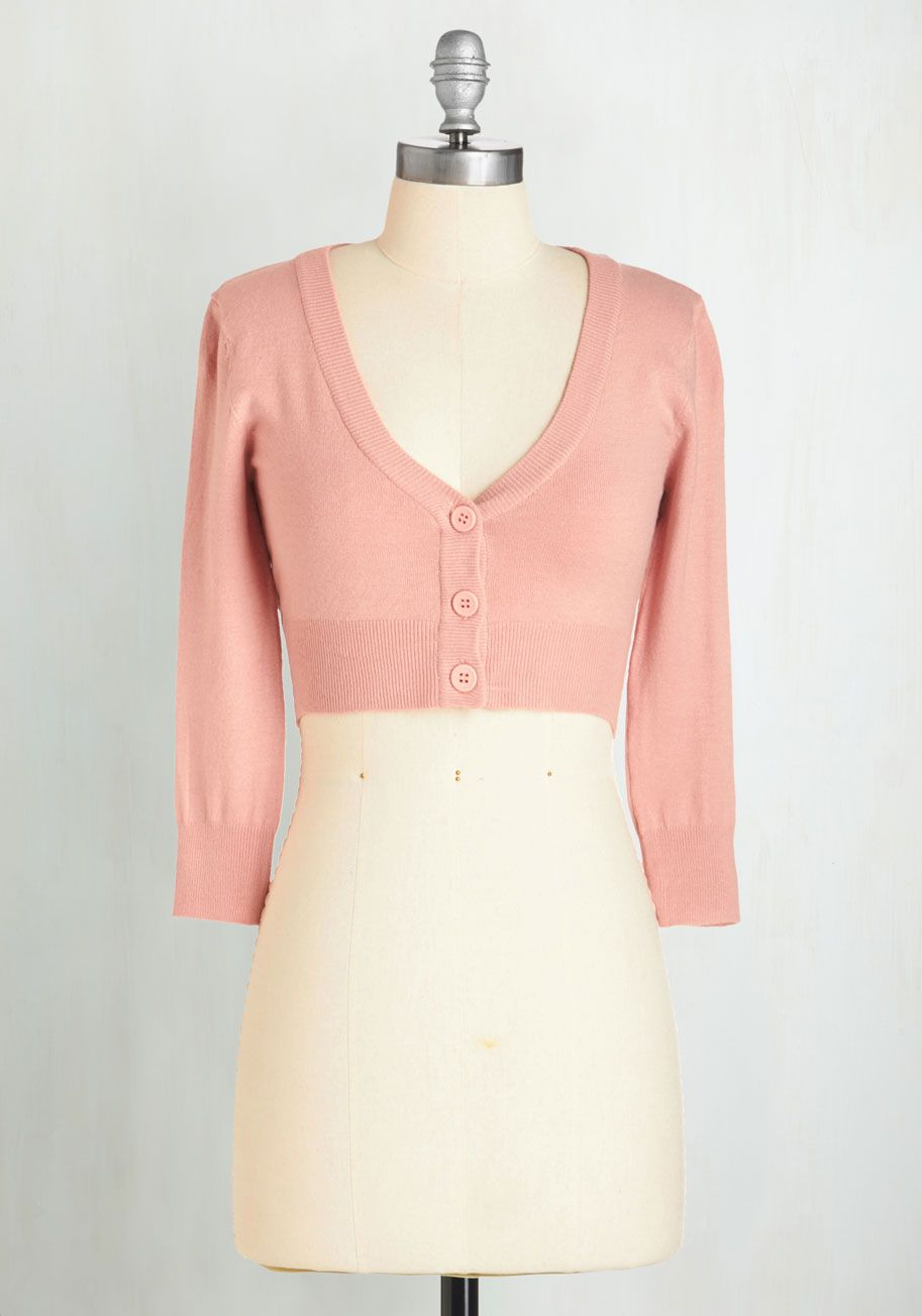 The Dream of the Crop Cardigan | ModCloth, Rose and Wardrobes