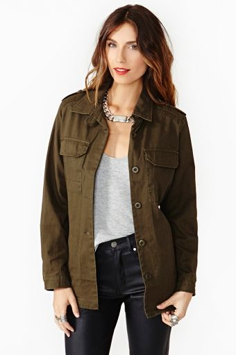 At Ease Army Jacket