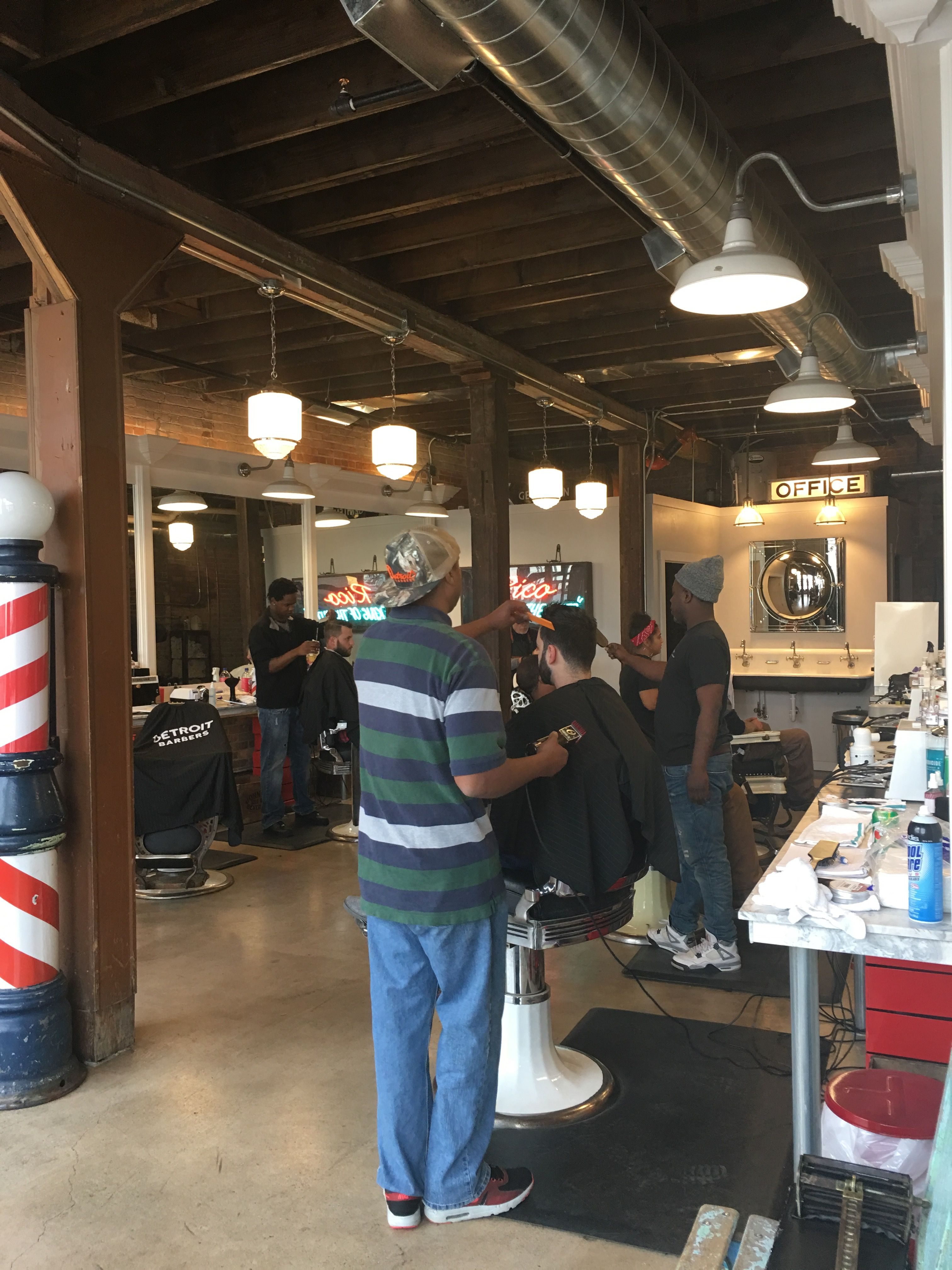 Detroit Open Corktown, Barber shop, Open