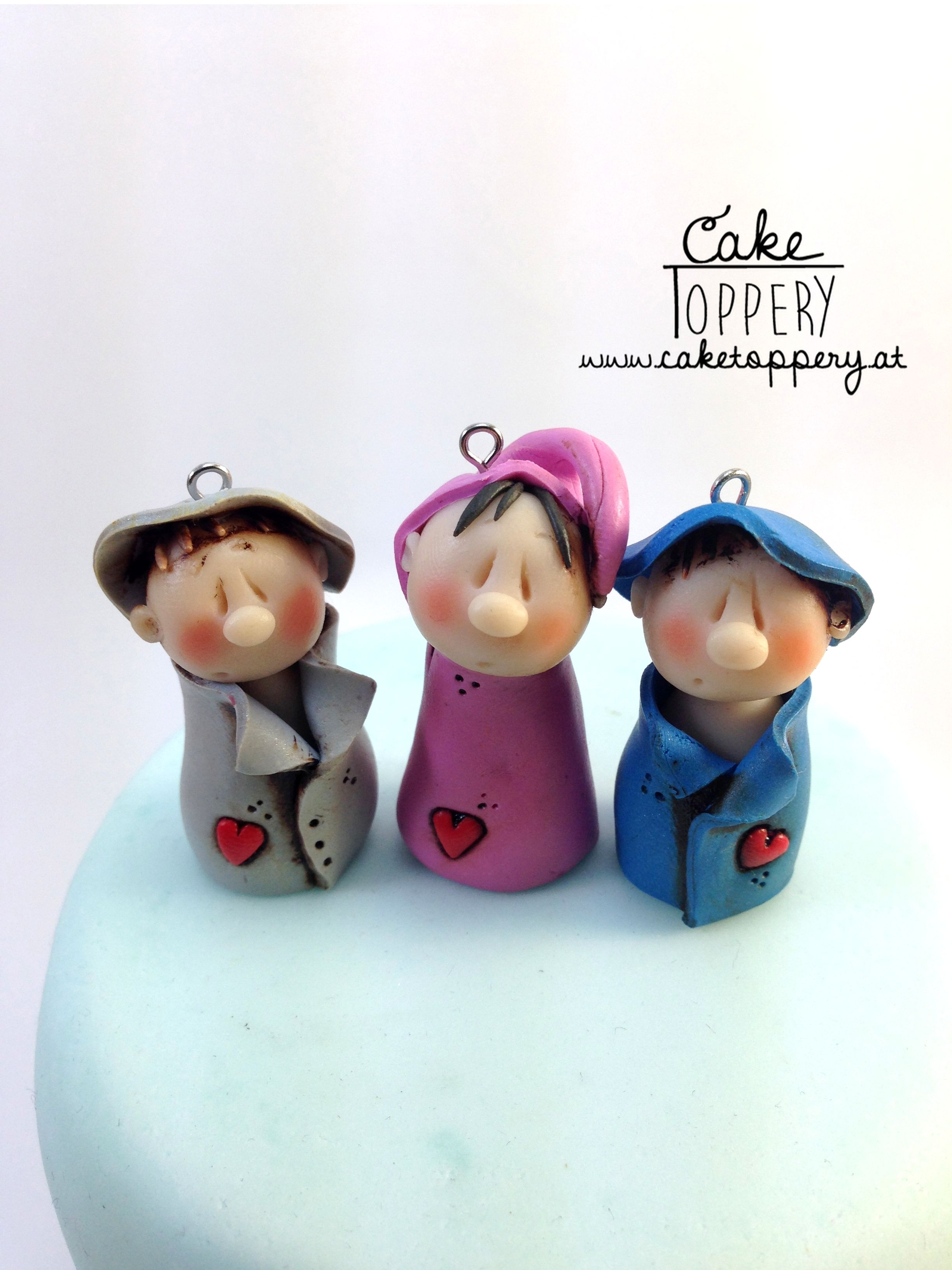 Cute Tiny Gnomes By Cake Toppery