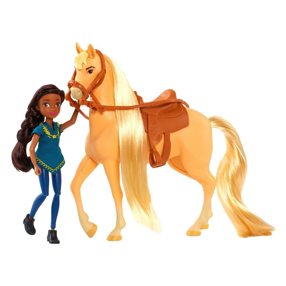 Spirit Small Doll & Horse Prundence & Chica Linde