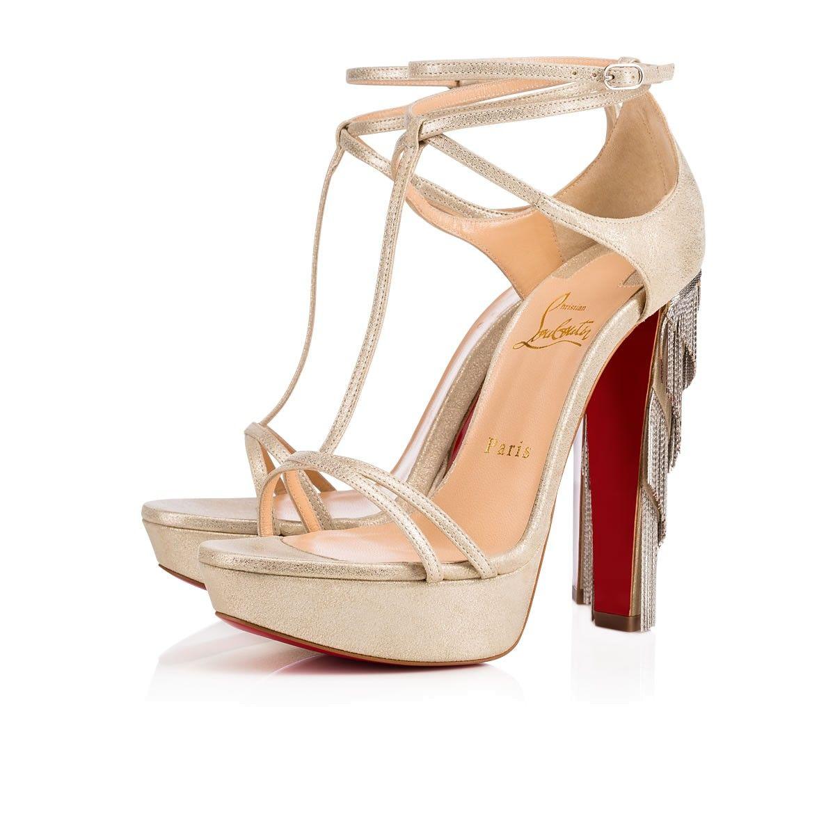 d175b7ea122d CHRISTIAN LOUBOUTIN Golden Blake 140 Platine Suede - Women Shoes - Christian  Louboutin.  christianlouboutin  shoes