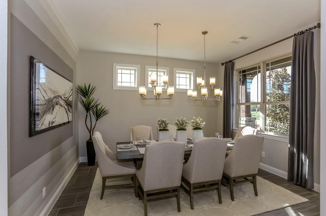 Dining Room New Home Photo Gallery Gehan Homes Neutral