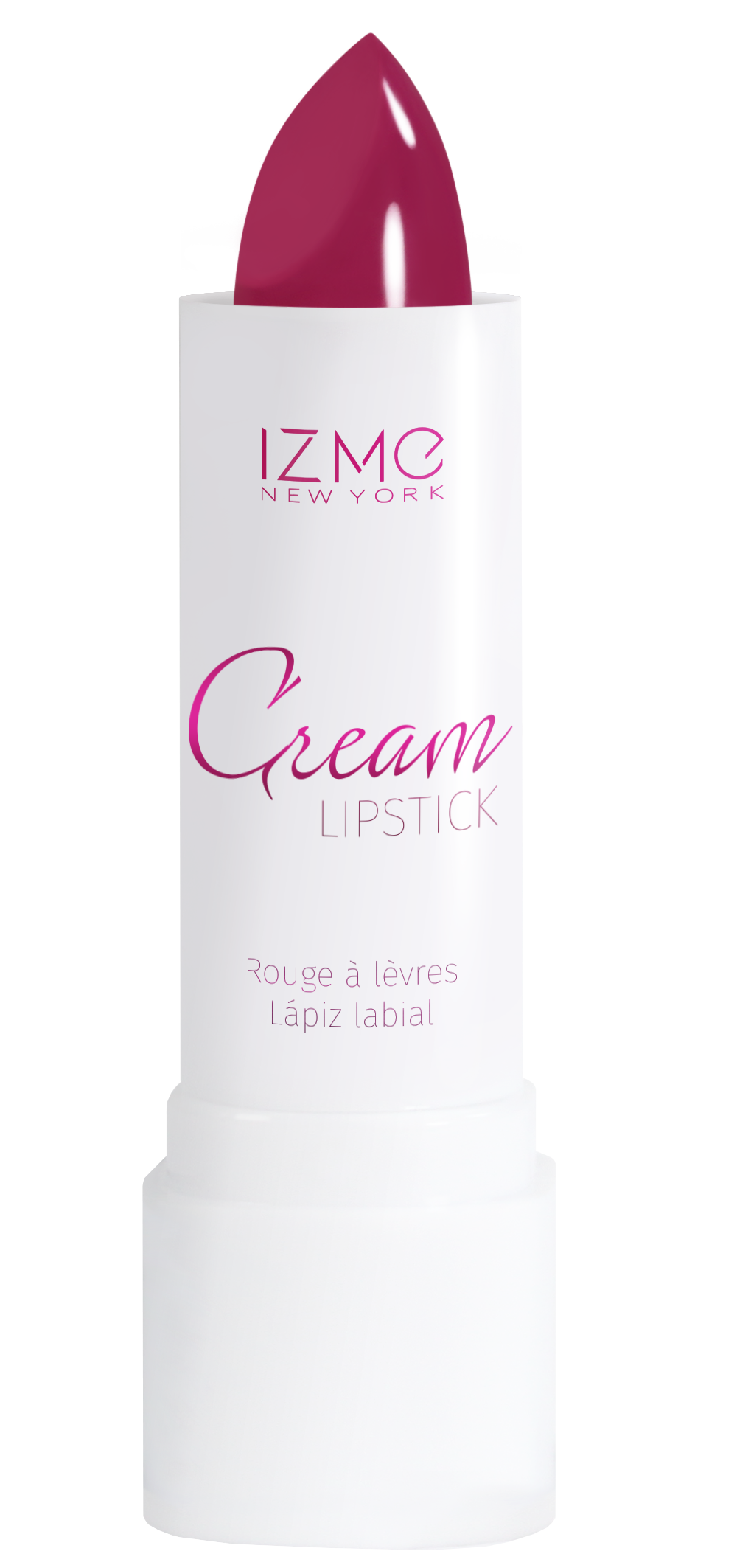 IZME New York Cream Lipstick – Merlot – 0.12 fl. Oz / 3.5 gm
