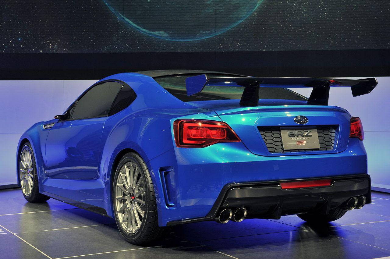 All Types brz sti parts : Subaru BRZ Concept STI   Subaru brz sti, Subaru and Sti subaru