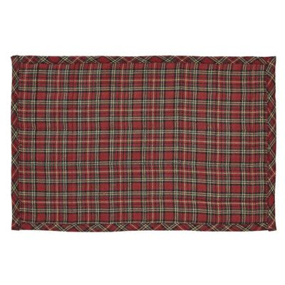 The Holiday Aisle Tartan Holiday Placemat