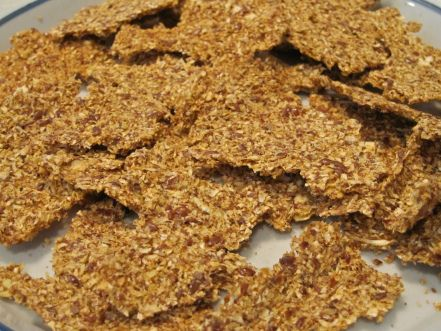 Spicy Thai Cauliflower Dehydrator Crackers Raw Snacks Spicy