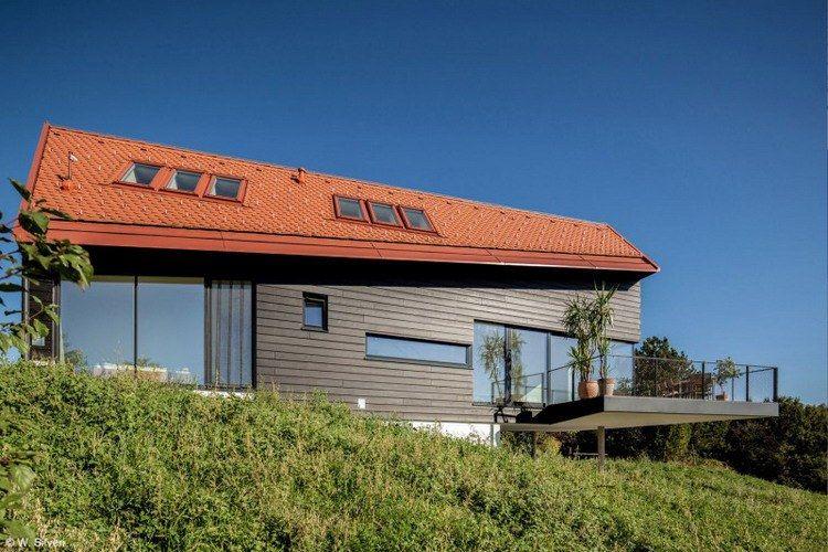 Haus am Steinberg   Nhà ở Oberberg, Styria, Áo – HoG Architektur   KIẾN TRÚC NHÀ NGÓI