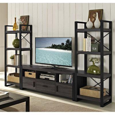 Tv Stand For Tvs Up To 65 Tv De Sala De Estar Acessórios De Decoração Para Casa Ideias Para Interiores