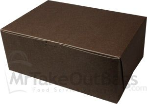 10 X 7 X 4 Chocolate Brown Tinted Cupcake Boxes Cupcake Boxes Tints Red Color Schemes