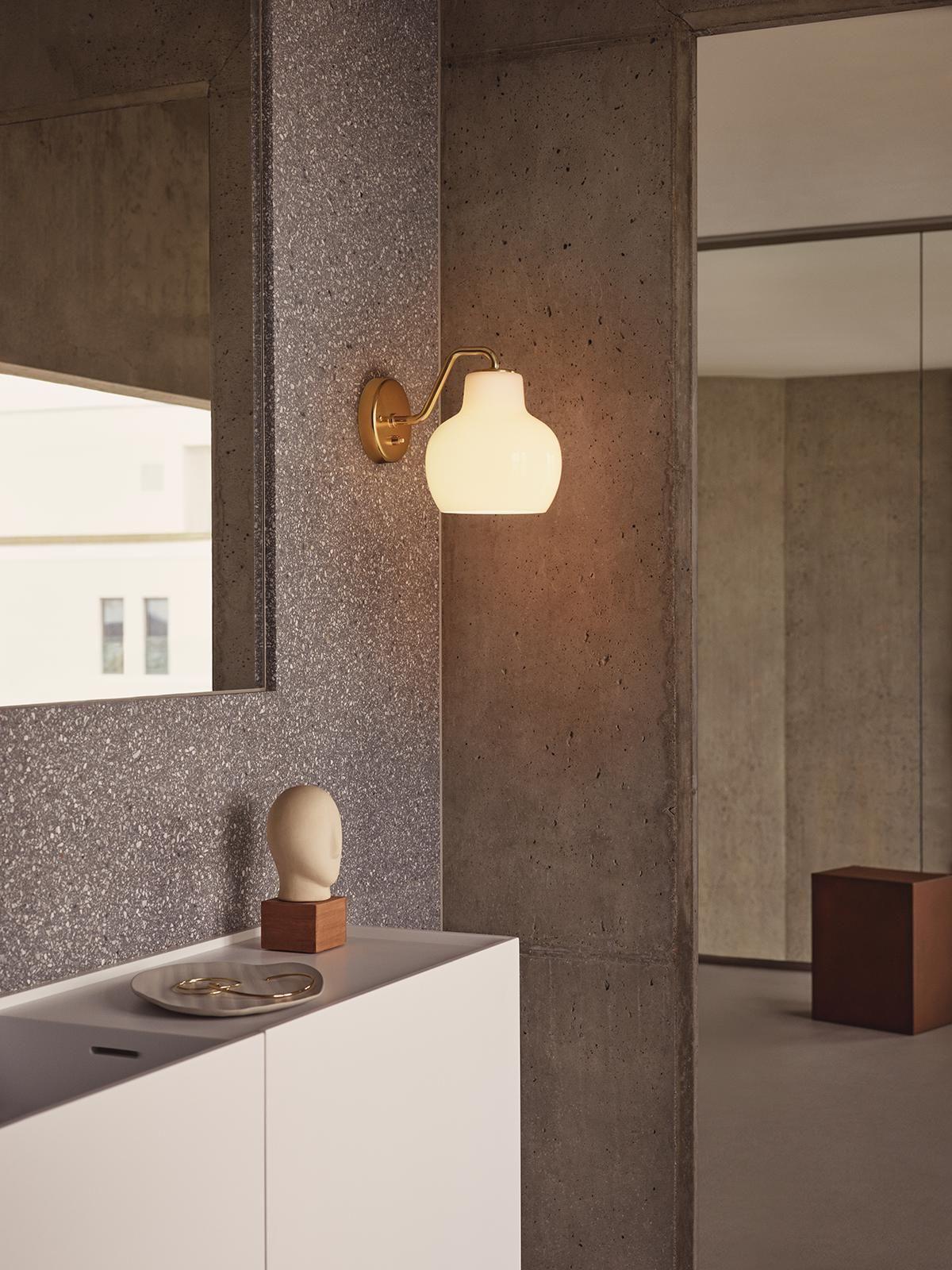 Origina Vintage Vilhelm Lauritzen Wall Lamp In 2020 Wall Lamp Louis Poulsen Crown Ring