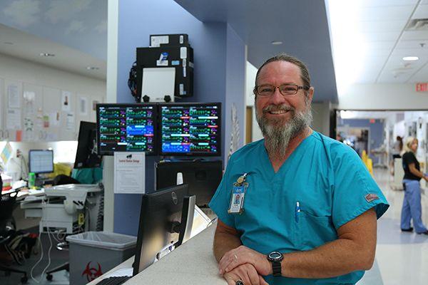 For more than three decades, pediatric respiratory therapist Mark ...