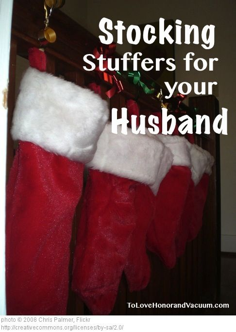 34 unique STOCKING STUFFER ideas for your husband! Stocking