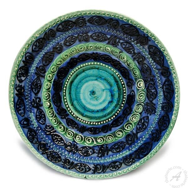 Handmade Italian Decorative Pottery Home Décor Ceramics  sc 1 st  Pinterest : italian decorative wall plates - Pezcame.Com