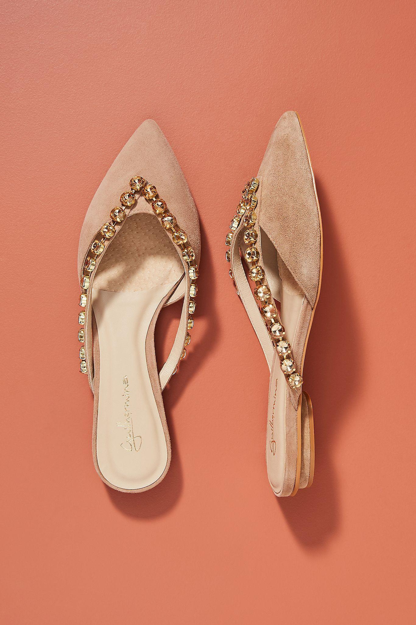 Guilhermina Embellished Slides In