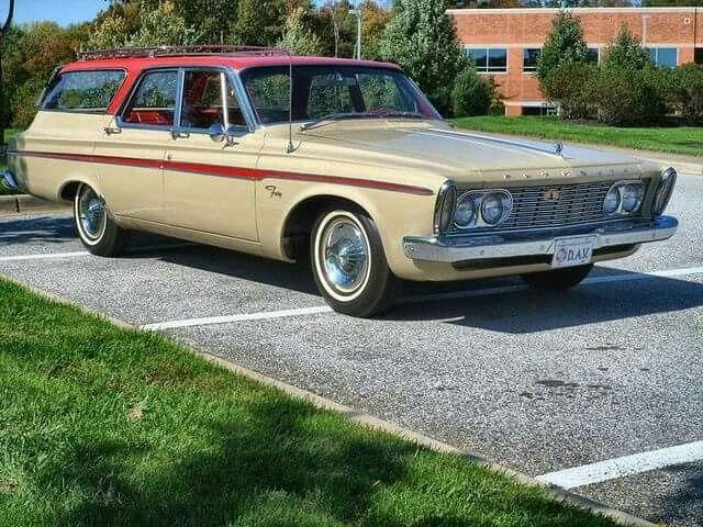 1963 Plymouth Fury Wagon