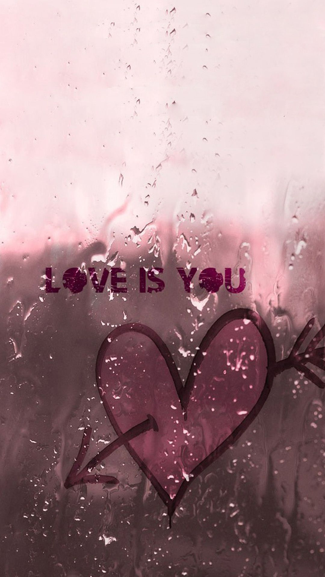 Love Is You iPhone 8 Wallpapers Papel de parede do ipad