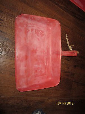 Very Rare Vintage Early Rubbermaid Wooster Rubber Co Red