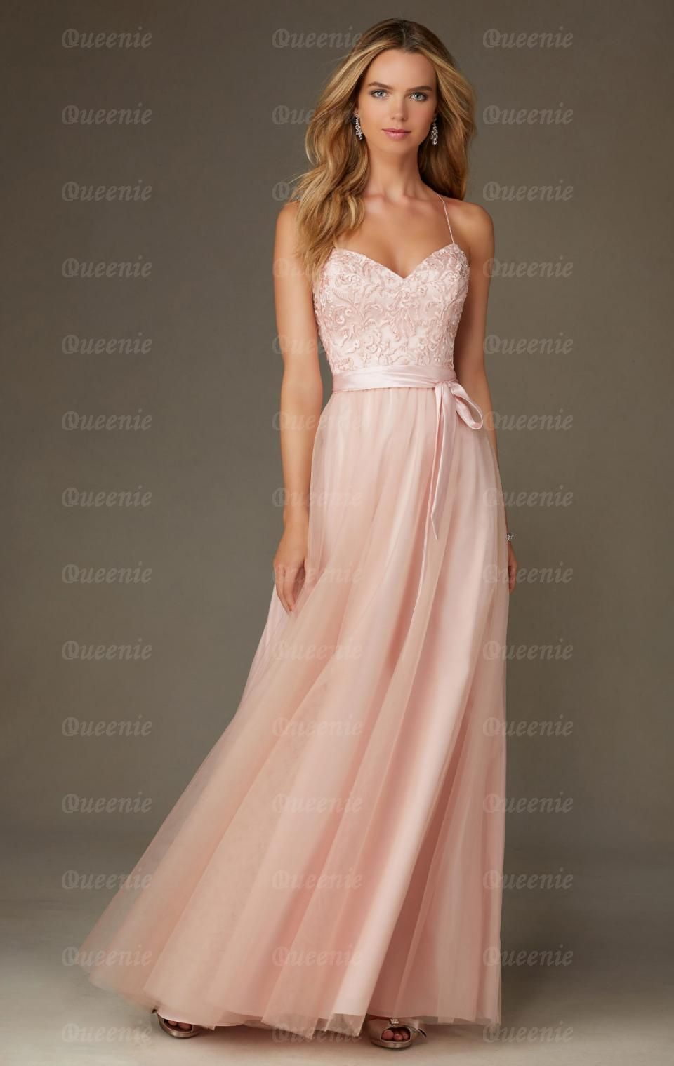 Sale Light Pink Bridesmaid Dress BNNCL0008-Bridesmaid UK | wedding ...