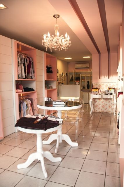 decoraç u00e3o delicada loja Boutique decor, Boutique interior e Shop inter