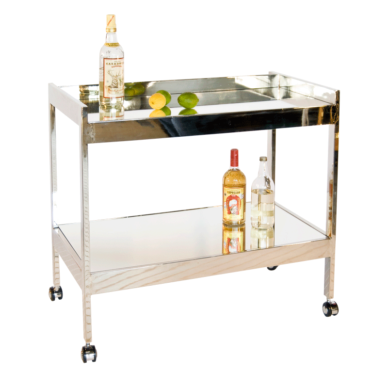 world away furniture. Worlds Away Roland Nickel Plated Bar Cart World Furniture E