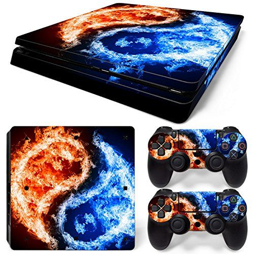 Blue Skull 2 High Quality Loyal Sony Ps4 Playstation 4 Pro Skin Sticker Screen Protector Set Faceplates, Decals & Stickers Video Games & Consoles
