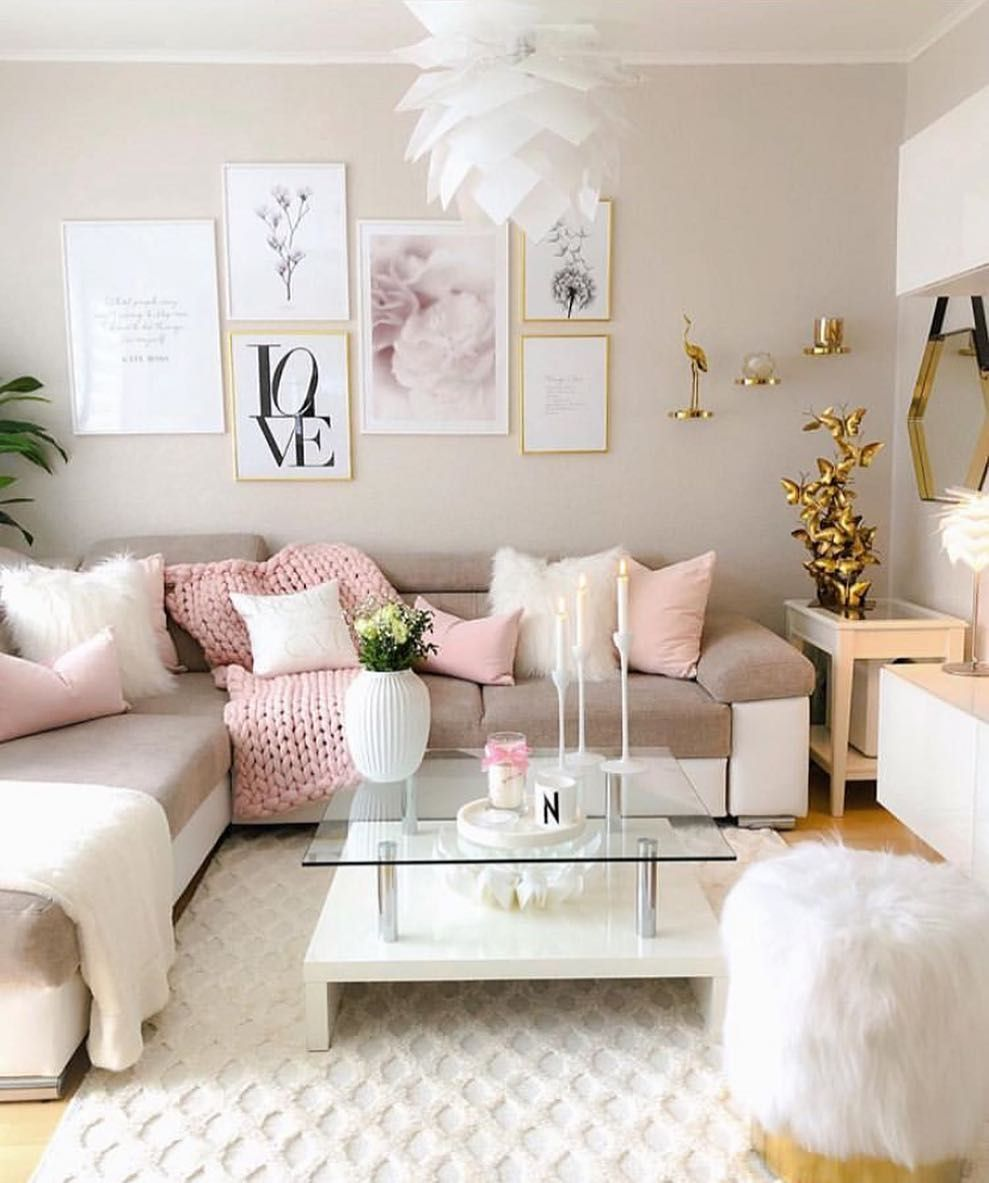 Magnificent So Elegant Lovely Pink Accessories Make It Super Cosy Creativecarmelina Interior Chair Design Creativecarmelinacom