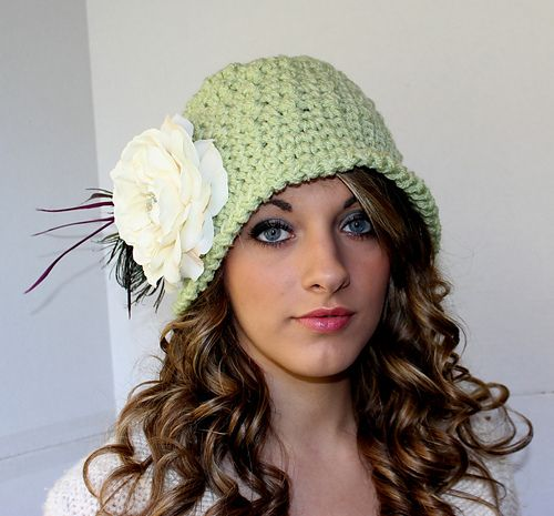 Chunky Downton Abbey Cloche pattern by Kris Moore | Chunky ...