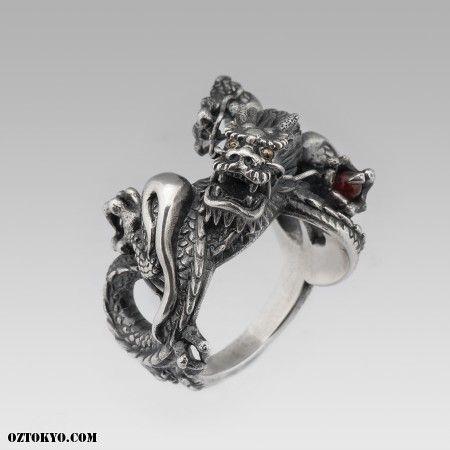 Dragon Ring Rings by boozebird