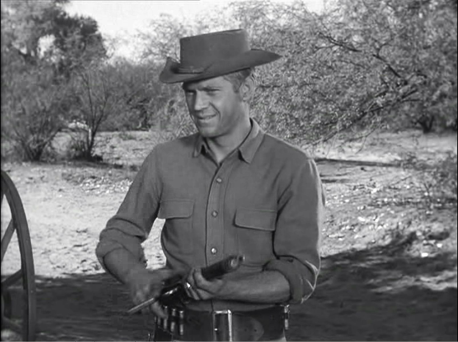 Steve Mcqueen Bounty Hunter Wanted Dead Or Alive Season 1 Six Up From Bannock