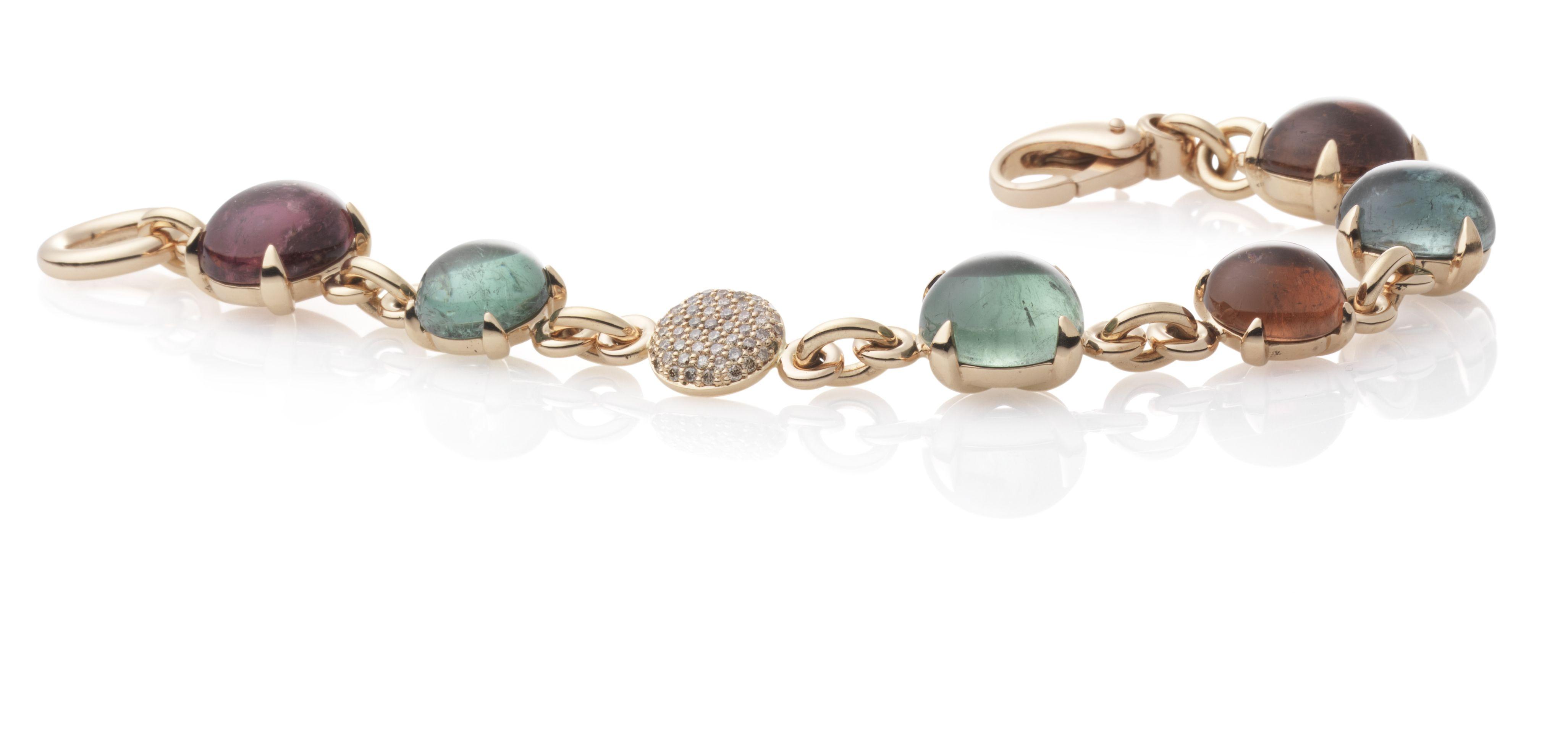 Armband met toermalijn. #BronJewelry is te koop bij Rob Lanckohr, Atelier voor Juwelen. www.lanckohr.nl