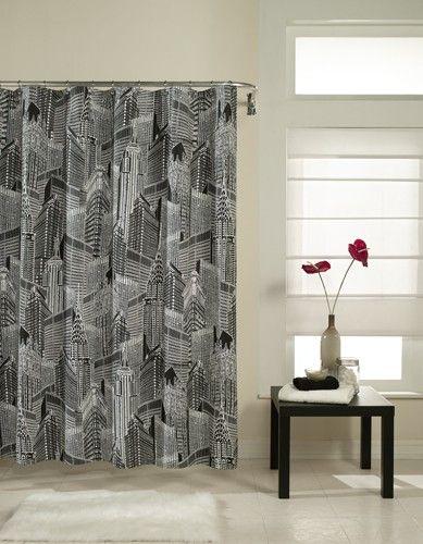 Curtain Bath Outlet Nyc Fabric Shower Curtain Curtains