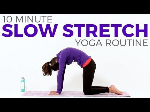10 minute simple slow stretch yoga all levels