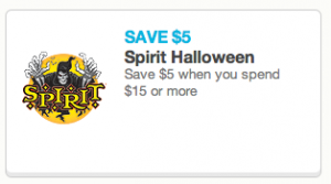 image relating to Printable Spirit Halloween Store Coupon identified as Spirit Halloween Retail outlet Coupon: $5.00 Off $15.00 Buy