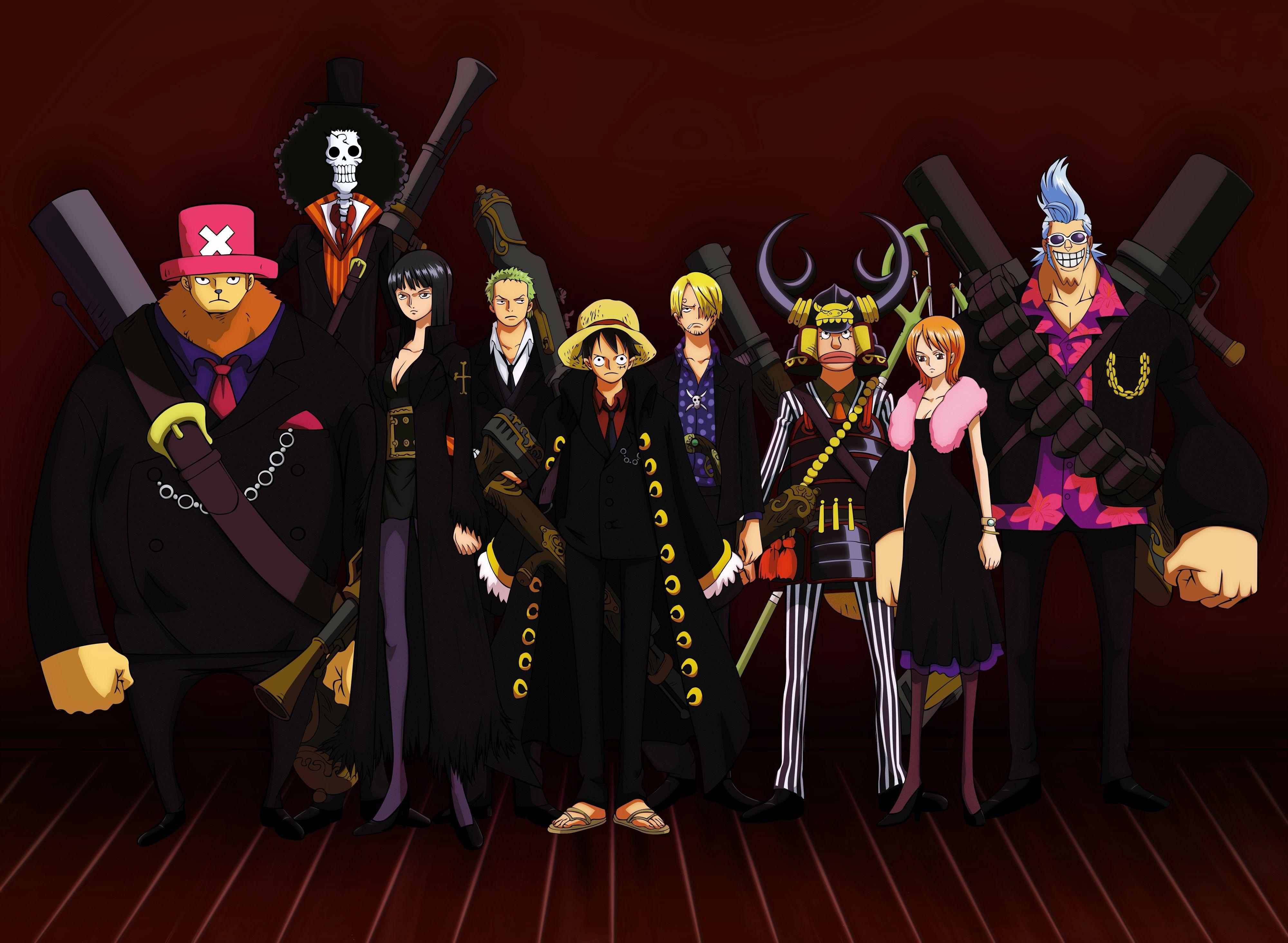 One Piece Strong World ダークなアニメ 海賊 イラスト