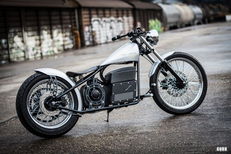 Sine Cycles electric chopper