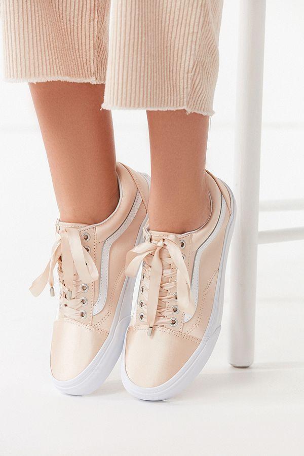 Vans Satin Lux Old Skool Sneaker   Perfect sneakers, Vans, Sneakers