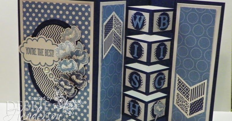 Debbie's Designs: Building Block Card & Recap!