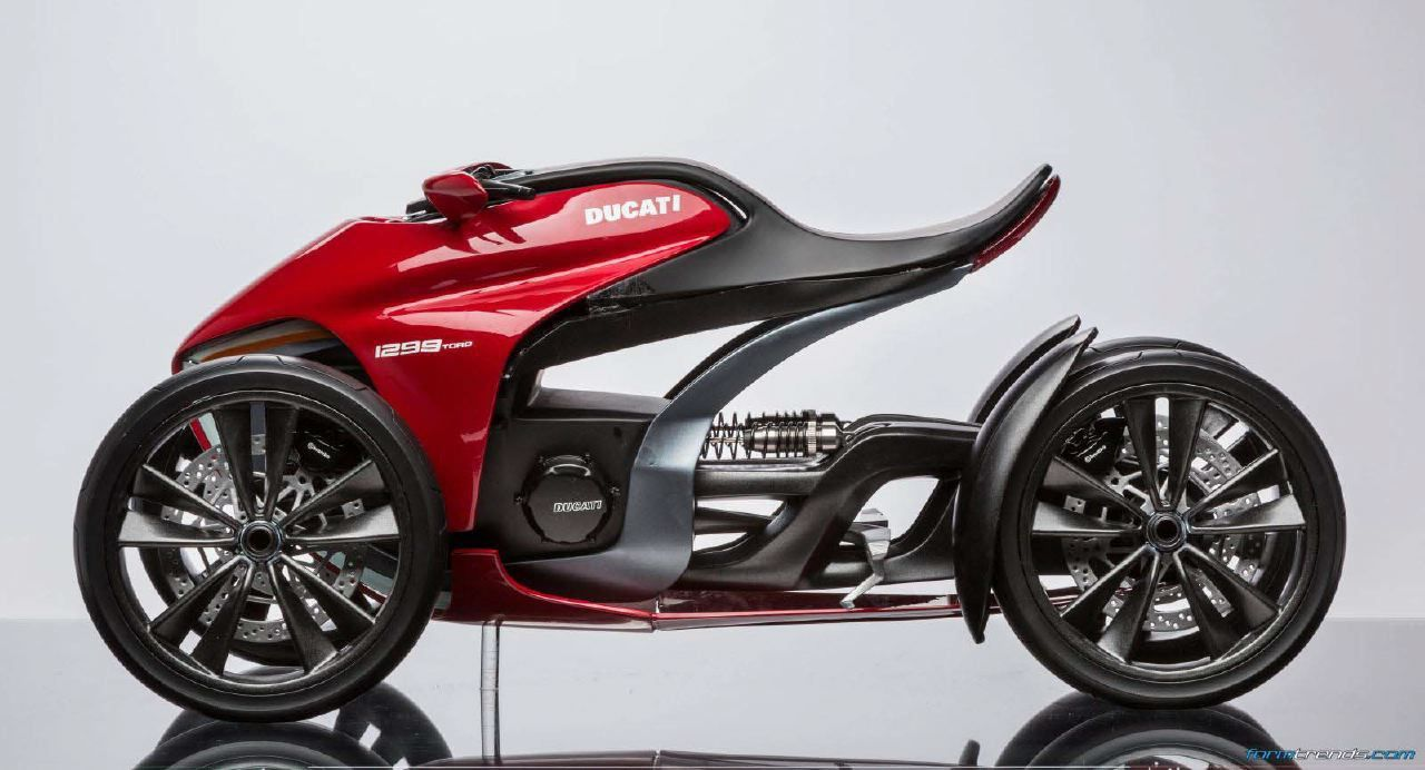 munich s university of applied sciences imagines the four wheeled ducati form trends. Black Bedroom Furniture Sets. Home Design Ideas