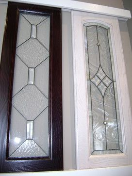 Glass Cabinet Door Inserts Glass Inserts For Kitchen